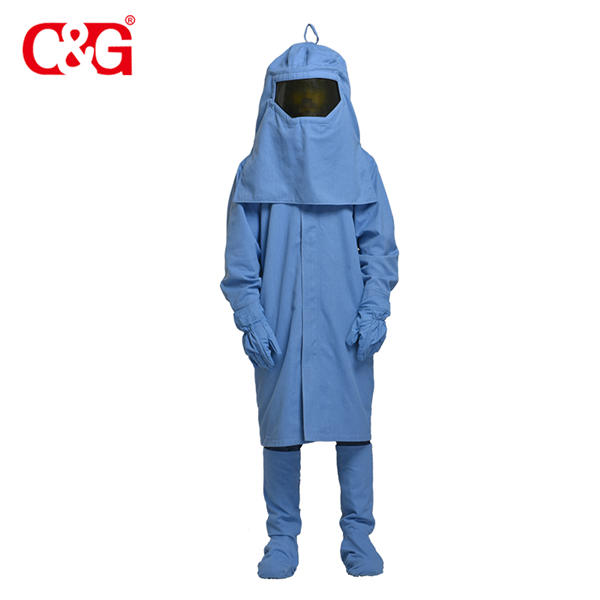 Competitive price 33 cal arc flash robe ppe kit suits