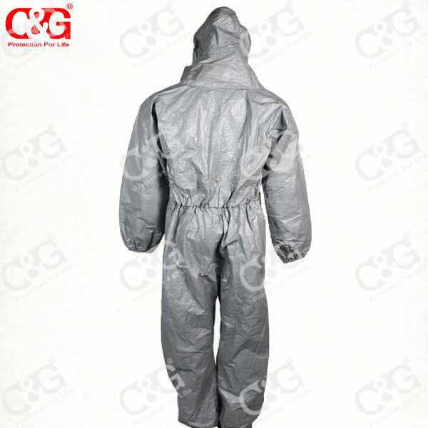 factory directly chemical protective clothing chemical suit