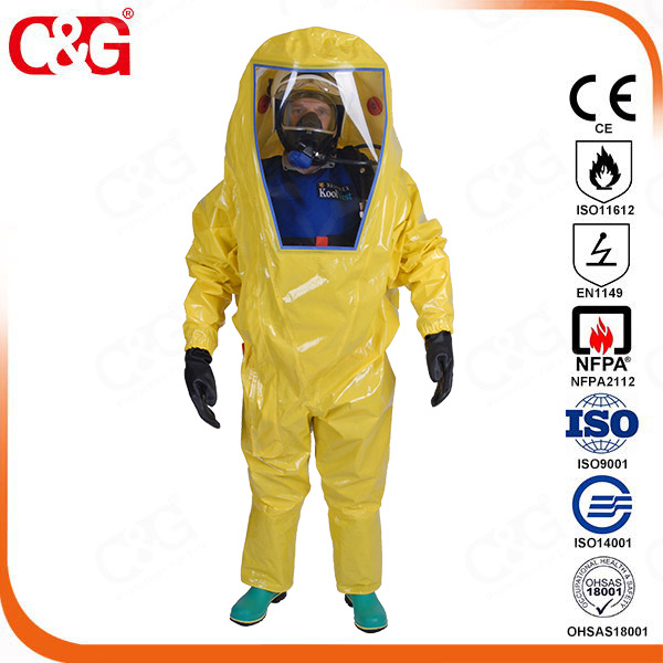 Respirex chemical protective workwear