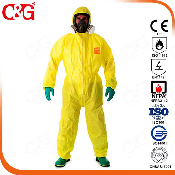 Chemical protective garments