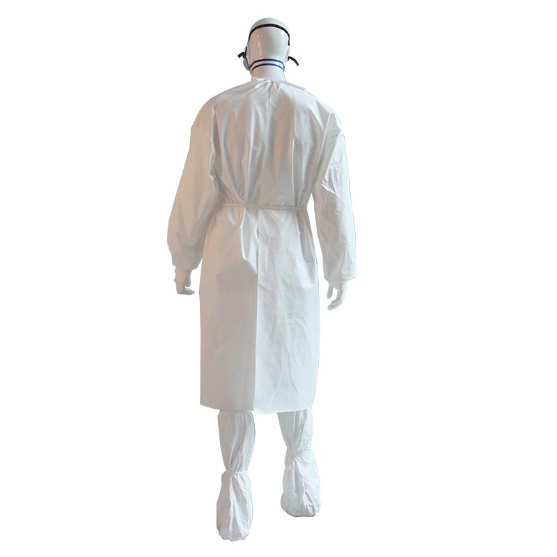 Microporous laminate film Isolation Gown