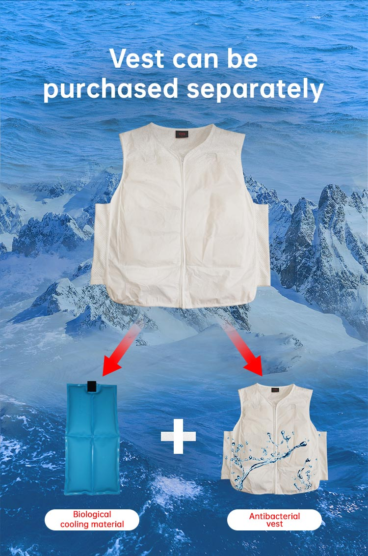 Biocool Disposable Cooling Vest