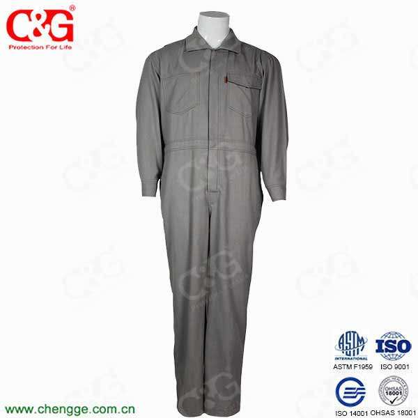 Flame-Retardant Workman's Coverall