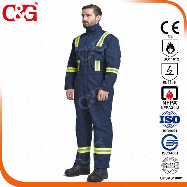 nomex coveralls 150g 200g flame resistant cothing