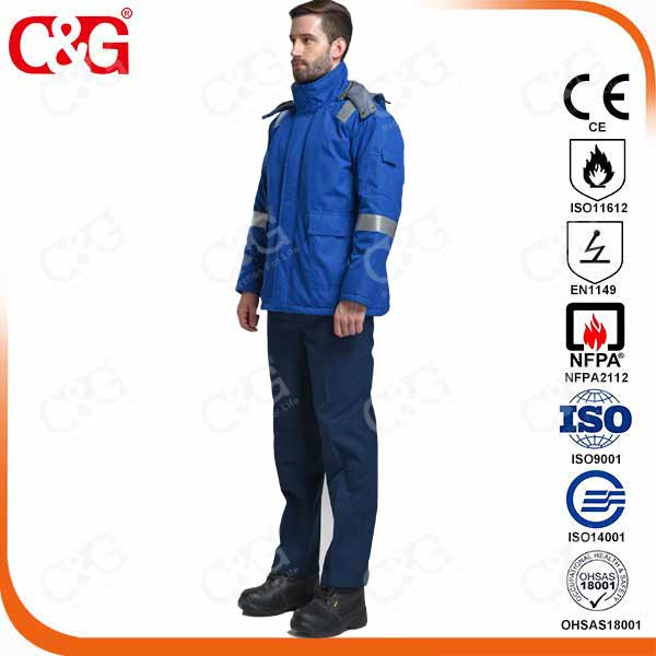 Oil And Gas Nomex Aramid Fire Resistant Suit Flame Resistant Uniform