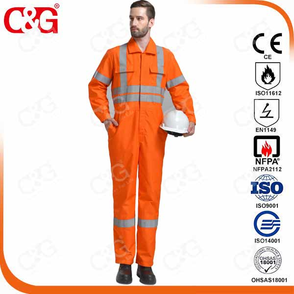 Nomex IIIA Safety Work Garment EN11612 Standard