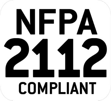 The flame-resistant garments Standard - NFPA 2112