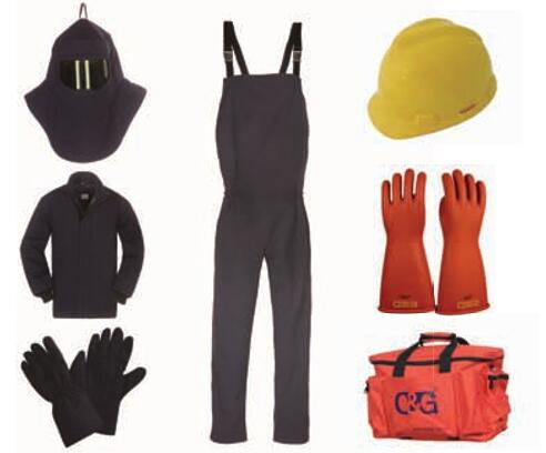 65cal/cm² Arc Flash Protective Clothing Kit