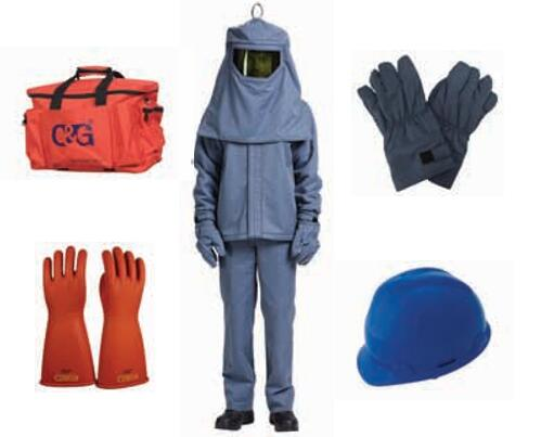 40cal/cm² Arc Flash Protective Clothing Kit
