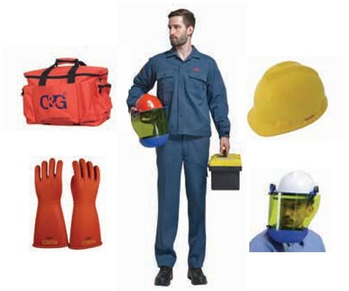 8cal/cm² Arc Flash Protective Clothing Kit
