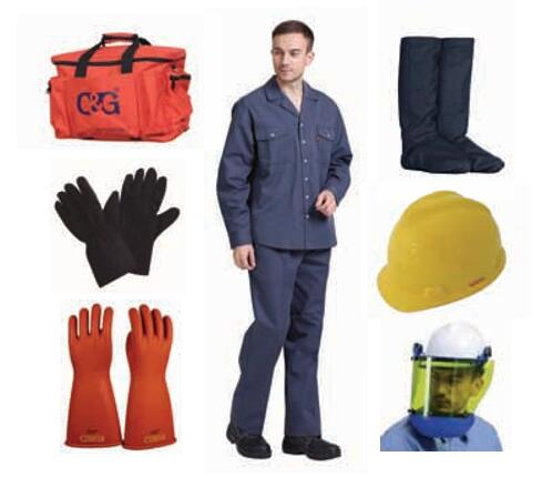 12cal/cm² Arc Flash Protective Clothing Kit
