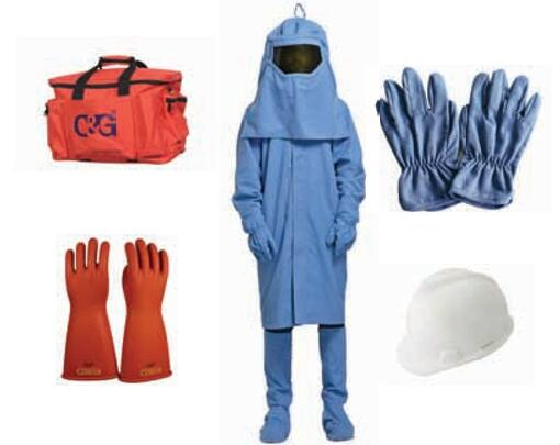33cal/cm² Arc Flash Protective Clothing Kit