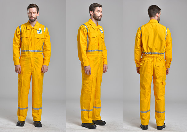 150g/m2 (4.5oz) Dupont Nomex IIIA FR Coverall