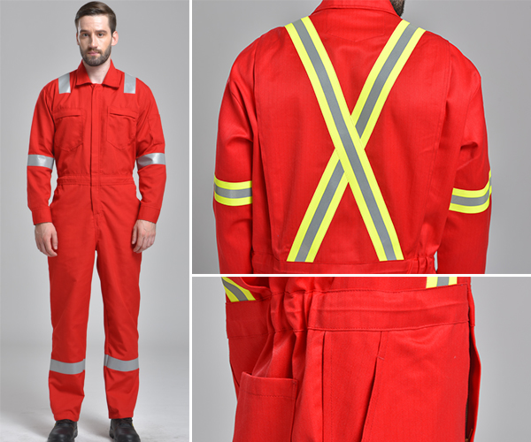 The four categories of flame resistant workwear