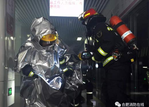 Precautions for use of Aluminized fire proximity suit