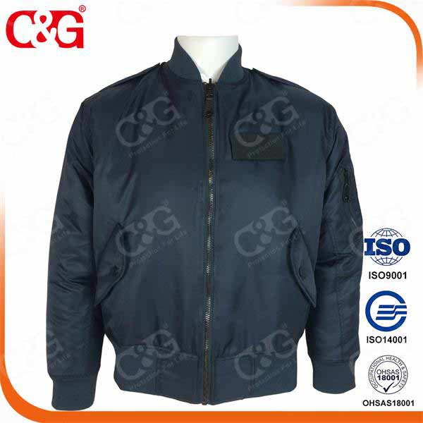 MA-1 Flight Jacket Suit with Navy blue color