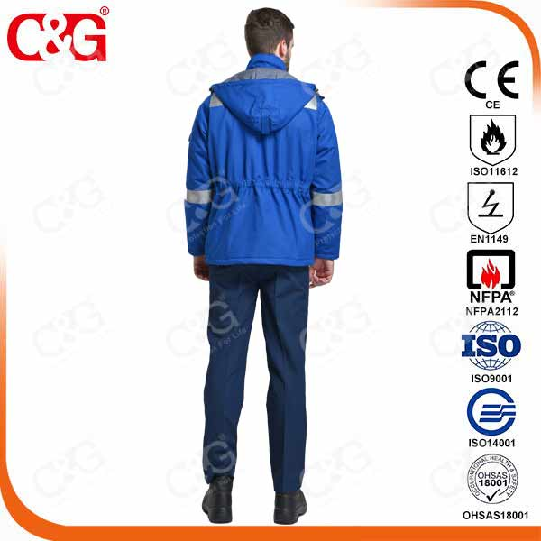 Chinese manufacturer fire resistant Welding jacket