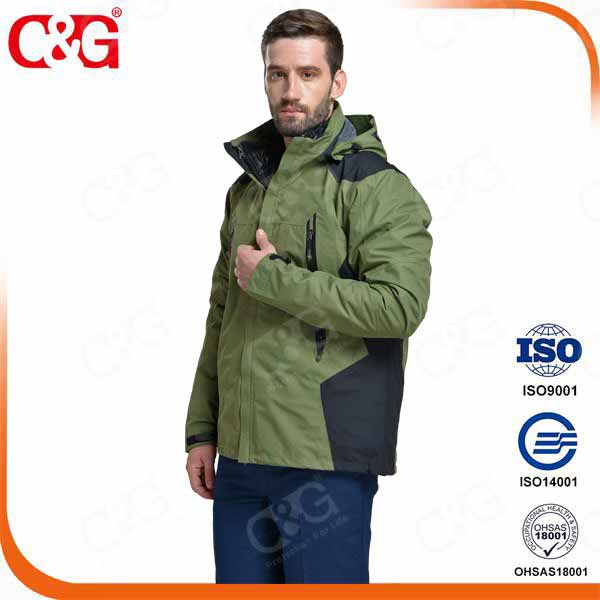 flame resistant Outdoor Waterproof Jacket men