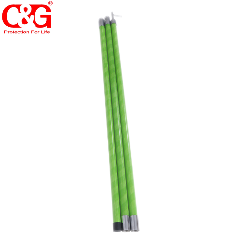 Green High Voltage Fiberglass Hot Stick