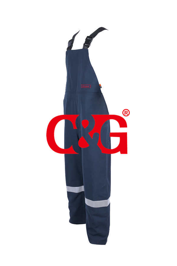 HRC4 40 cal arc flash Bib Overalls