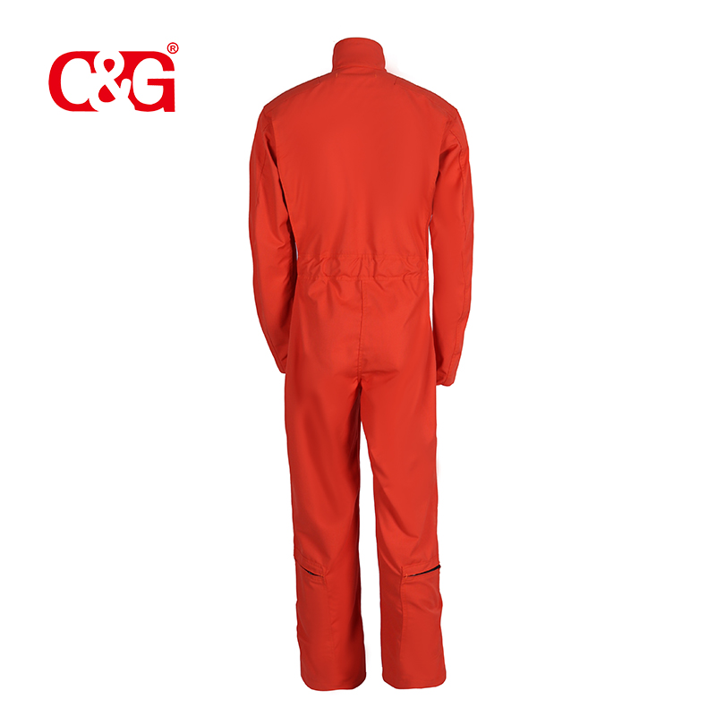 Orange Air Force CWU 27P Style Flight Suit